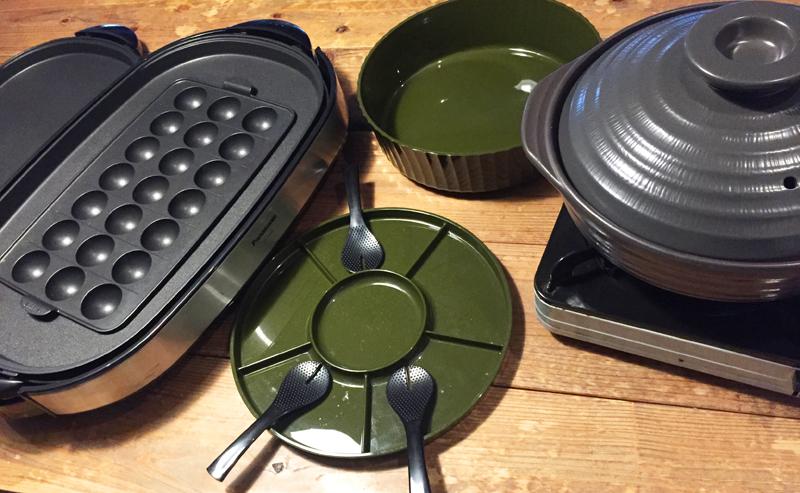 シエスタの調理道具